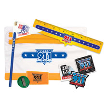 Call 9-1-1 Emergency Education School Kit, Stock