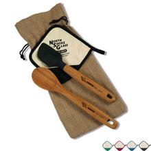 Bamboo Kitchen Gift Set w/ Pot Holder