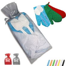 Silicone Kitchen Gift Set w/ Oven Mitt
