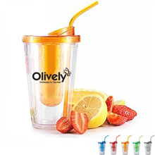 Flavorade Fruit Infuser Tumbler, 16oz., BPA Free