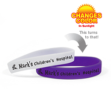 Sun Fun Color Changing Wristband Bracelet - Free Shipping!
