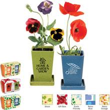 Flower Planter Garden Set, 2 Pack