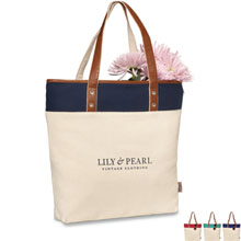Ella Cotton Fashion Tote - Free Set Up Charges!