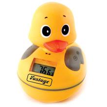 Waterproof AM/FM Duck Radio w/ Water Thermometer