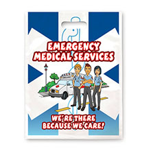 Emergency Medical Services Full Color Litterbag, Stock