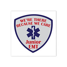 Junior EMT Temporary Tattoo, Stock