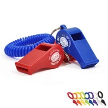 Coil Wristband with Whistle