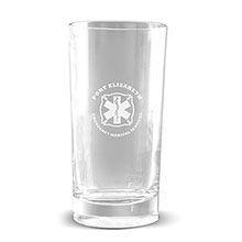 Deep Etched Traditional Beverage Glass, 12oz.