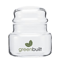 Glass Apothecary Jar with Dome Lid, 8oz.