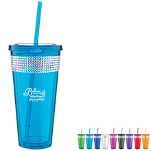 Bling Ice Tumbler, 20oz., BPA Free - Free Set Up Charges!