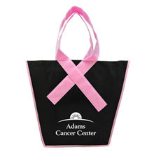 Pink Ribbon Handle Tote