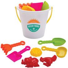 Beach Bucket w/ Toys