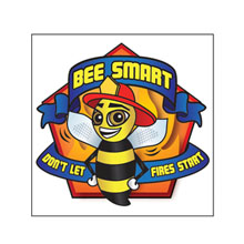 Bee Smart Temporary Tattoo, Stock