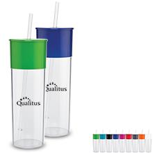 Montebello Acrylic Beverage Tumbler,  22oz., BPA Free - Free Set Up Charges!