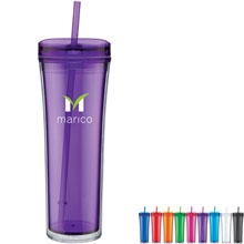 Belize Acrylic Beverage Tumbler, 20oz. - Free Set Up Charges!