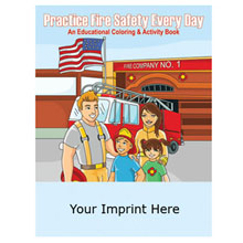 Practice Fire Safety Every Day Coloring & Activity Book