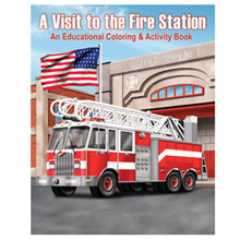 A Visit to the Fire Station Coloring & Activity Book, Stock