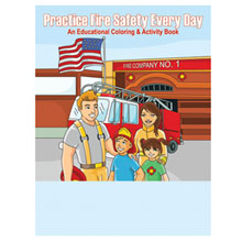 Practice Fire Safety Every Day Coloring & Activity Book, Stock