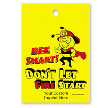 Custom Litterbag, Bee Smart Don't Let Fire Start