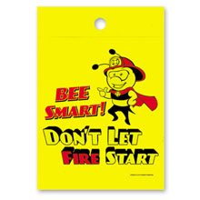Bee Smart Don't Let Fire Start Litterbag, Stock