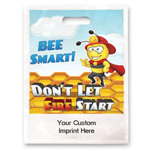 Bee Smart Don't Let Fire Start Full Color Litterbag