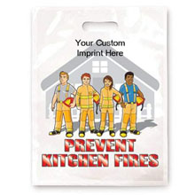 Prevent Kitchen Fires Full Color Litterbag