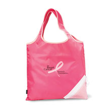 Pink Foldaway Shopper - Free Set Up Charges!