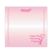 "Supporting, Honoring, Hoping - 3"" x 3"", 25 Sheet Sticky Pad"