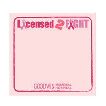 """Licensed 2 Fight - 3"""" x 3"""", 25 Sheet Sticky Pad"""