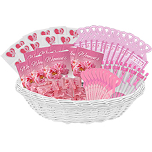 Basket of Breast Cancer Awareness, Stock