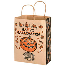 "Halloween Kraft Paper Bag, 10"" x 13"""