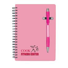 Pink Pen Buddy Notebook