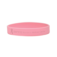 Breast Cancer Awareness Custom Silcone Wristband Bracelet