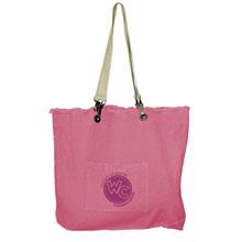 Campus Pink Cotton Canvas Tote Bag