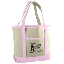 Canvas Deluxe Pink Tote