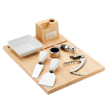 Entertainer Wine and Cheese Board Set