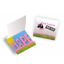 Seed Paper Matchbook - HOPE Breast Cancer Awareness
