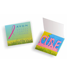 Seed Paper Matchbook - CURE Breast Cancer Awareness