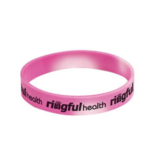 Pink Mood Color Changing Wristband Bracelet - Free Shipping!