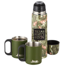 Hunt Valley™ Insulated Bottle & Cups Set, 18oz.- Closeout, On Sale!
