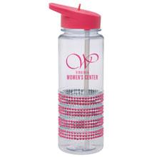 Pink Dazzle Water Bottle, 25oz., BPA Free