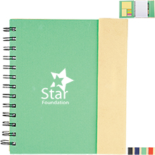 Lock It Spiral Notebook w/ Sticky Pads & Pen