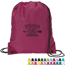 Sturdy 210D Polyester Drawstring Sport Pack