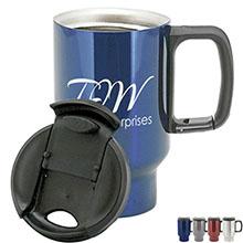 Augusta Stainless Steel Mug, 16oz.