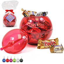 Fiesta Beverage Ball Gift Set w/ Mixed Chocolates, 20oz.