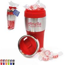Avondale Silver Streak Tumbler Gift Set w/ Starlite Mints, 16oz.
