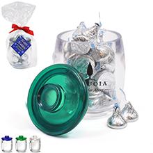 Depot Acrylic Apothecary Jar Gift Set w/ Hershey's Kisses, 11oz.