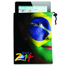 ColorBurst™ Microfiber iPad/Tablet Pouch