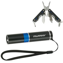 Duo Multi Tool & Flashlight Set