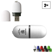 Boulder USB Flash Drive, 2GB